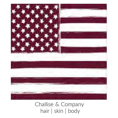 Flag Pattern Scarf