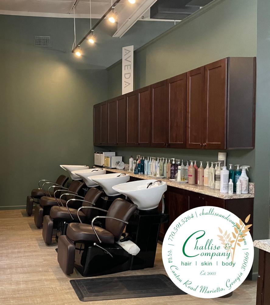 Challise & Company Shampoo Area
